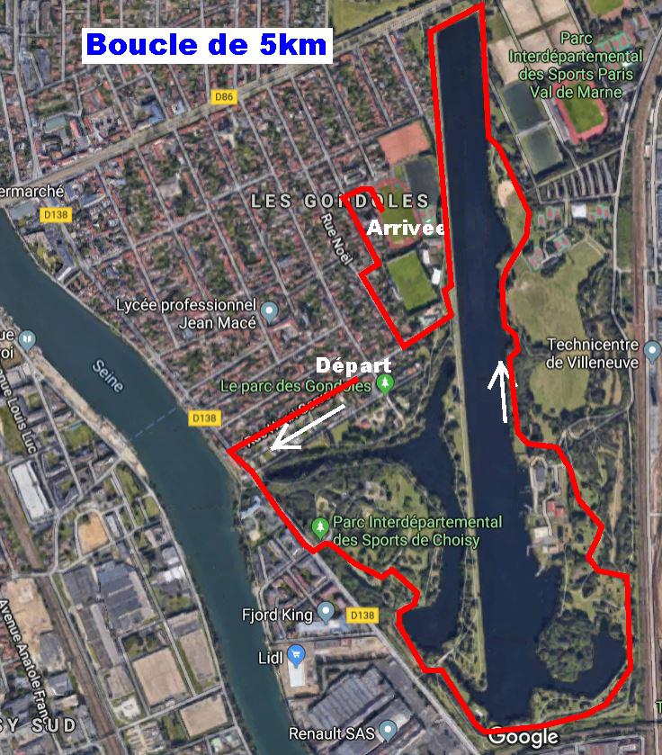 boucle 5km 2020